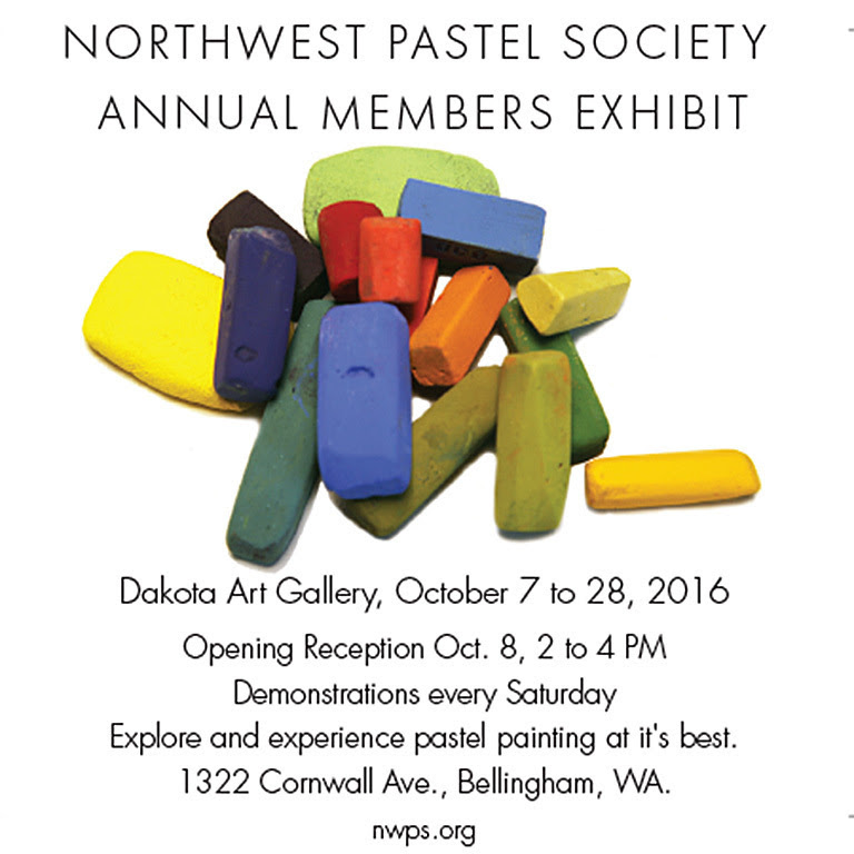 NW Pastel Society Annual Members Exhibit 2016